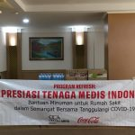 Coca-Cola Indonesia dan Coca-Cola Amatil Indonesia Salurkan Bantuan Produk Minuman ke RS Rujukan COVID-19 di Indonesia